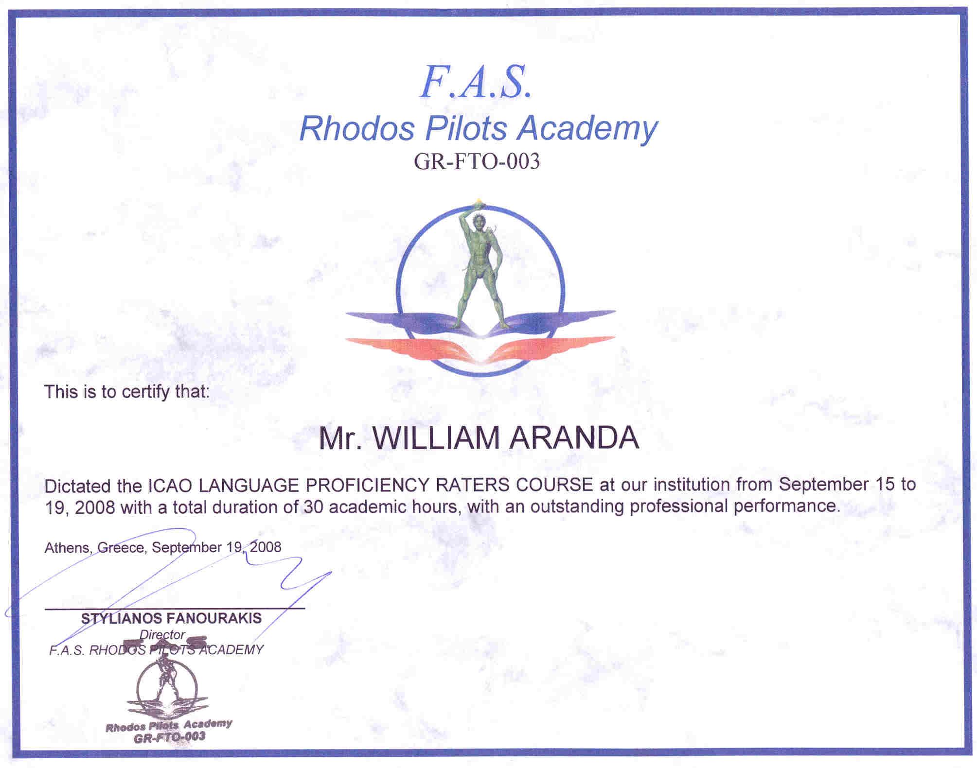 Language Proficiency Certificate Template Choice Image ...